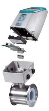 Przepływomierz elektromagnetyczny w wersji compact